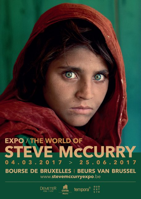 Steve McCurry Sudest57 Bruxelles Brussels