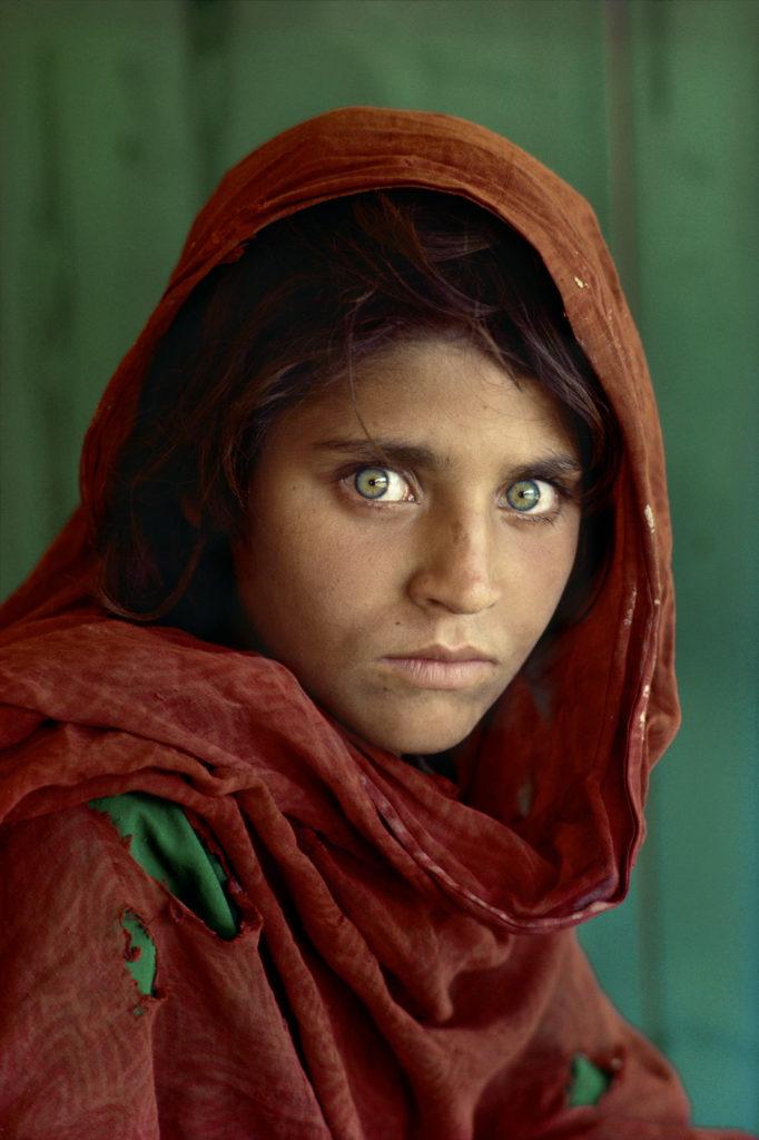 La ragazza afgana di Steve McCurry