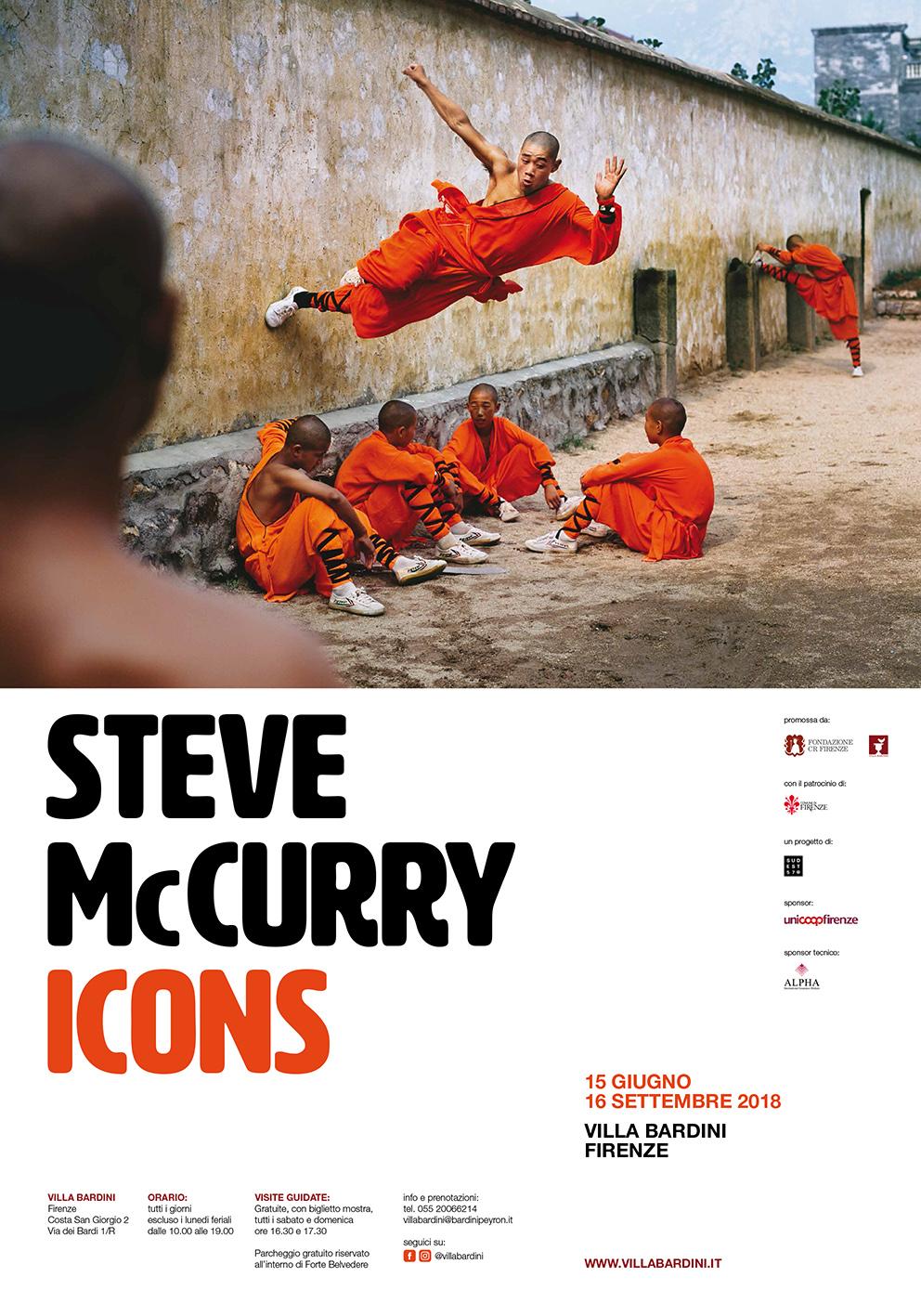 Steve McCurry Icons Firenze