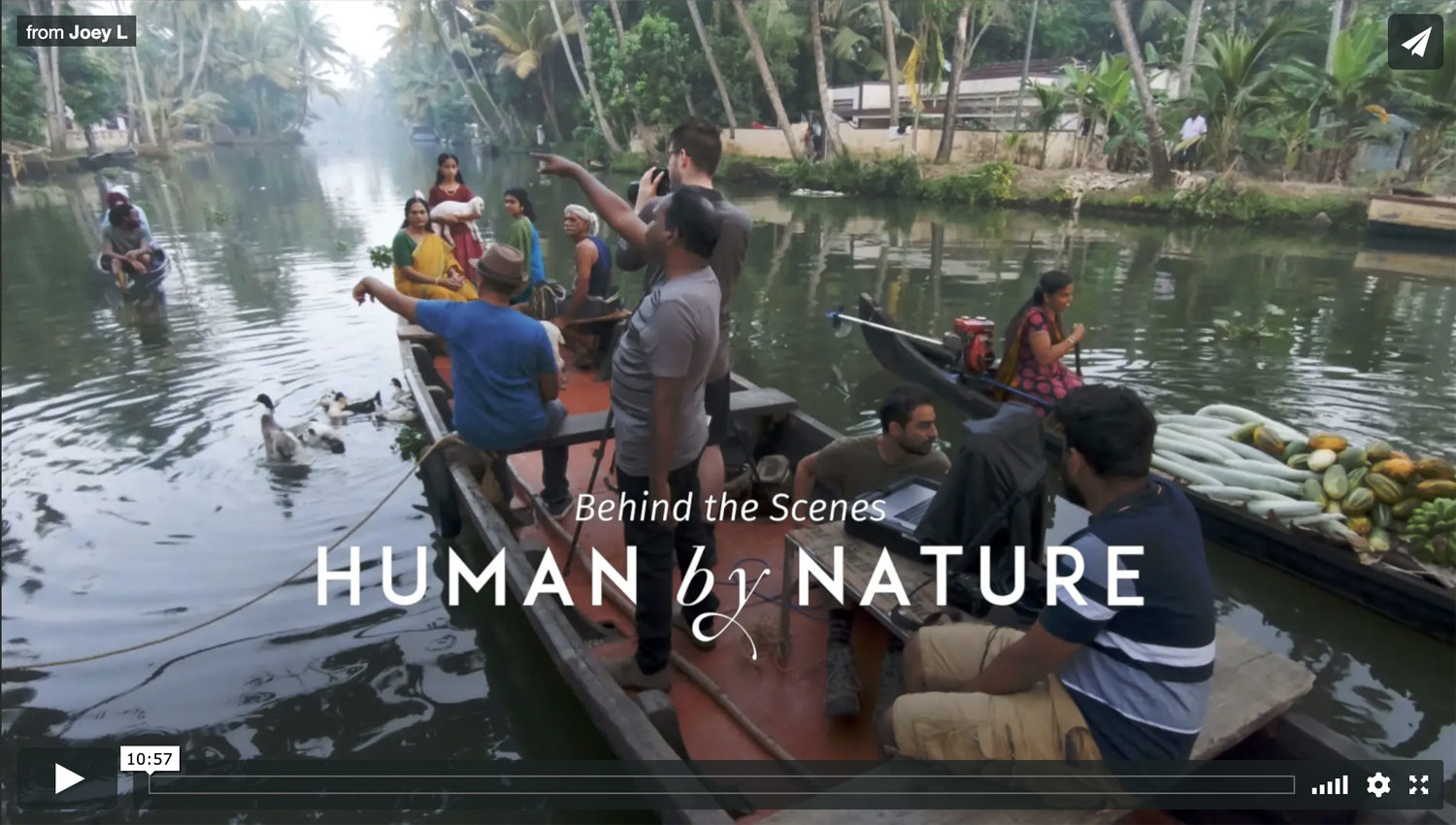 Preview Video Joey Human By Nature Kerala