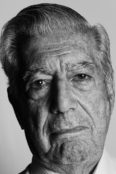 Vargas Llosa portrait by Franco Pagetti